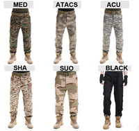 Tactical army Combat Pants Camouflage for six color choose