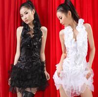 Puff skirt dress princess female singer fashion dance ds costumes costume twirled clothing evening dress