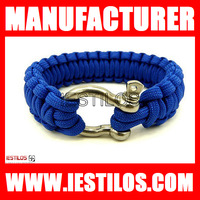 Free shipping hot-selling Fashion paracord bracelet supplies metal buckle survival paracord bracelet buckles