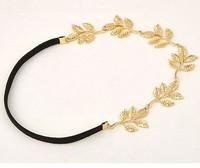 2014 fashion classic Olive leaf Headband Hairpin jewelry  hair jewelry free shipping