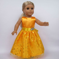 "Free shipping!! Doll Clothes dress  fits for 18"" American Girl Doll, girl birthday present gift  AGC-018"