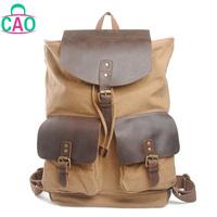 fashion vintage canvas bag backpack school bag travel hiking bag men women's handbag  free shipping D10053