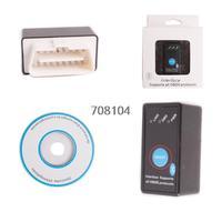 Professional sale NEW Super Mini ELM327 Bluetooth OBD-II OBD Can with Power Switch