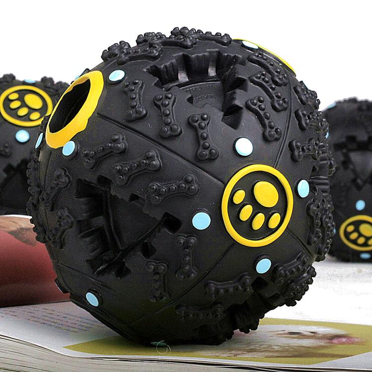 Free Shipping Pet Dog Voice Sound Ball Toy Feeding Food Ball(China (Mainland))