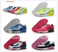 Free shipping 2013 women's air athletic shoes brand max running shoes 90 sports shoes fashion running shoes 2013 new 36-40