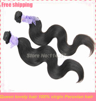 Unprocessed virgin body wave cheap queen human hair princess peruvian hair fast shipping