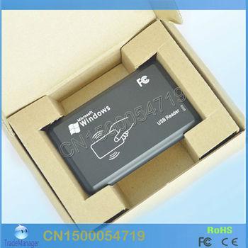 125KHZ RFID de identificación Lector de tarjetas EM y Escritor y copiadora / duplicater ( T5557 / T5567 / T5577 / EM4305 / 5200 ) para control de acceso