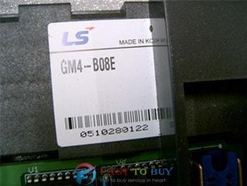GM4-B08E PLC K300S Series Expansion Base Boards 8 Loaded I/O Modules New
