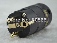 Hi End Audio ACROLINK FP-02Eu EUR SCHUKO Power plug Amplifer Power plug CD plug EUR