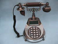 3010 antique caller id telephone speech reported number american classical vintage telephone