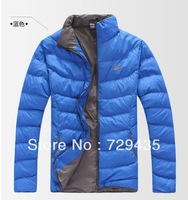 free shipping ! men sports leisure hooded brought unginned cotton coat cotton-padded jacket