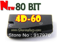 Free Shipping  80 Bit 4D-60 Transponder Chip Hot Offer 10pcs/lot