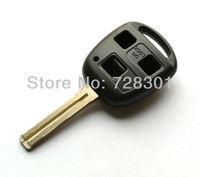 No Chip Uncut Remote Key Shell Case Fit For Lexus SC430 GX470 RX350 RX400h ES300 ES330 GS400 GS430 GS470 LS400 LS430 3 Buttons