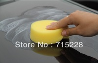 Cleansing cream special sponge car waxing sponge white cleaning sponge Free Shipping B195