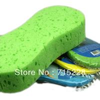 Large auto supplies porous foam coral cleaning sponge car wash car absorbent sponge 8 compressed sponge Free Shipping B196