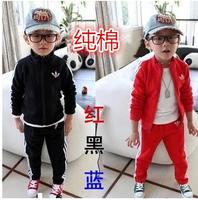 HOT ! 2013 retail children clothing coat + pants Autumn and winter fashion boys girls kids suit clothes Children's sports suit