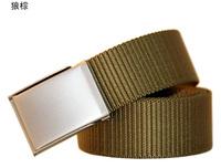 Tactical bird male casual nylon canvas belt outside sport strap anti-theft sb's belt 2013