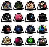"""15"""" Soft Neoprene Laptop Shoulder Sleeve Bag Case +Handle,+ Side Pocket For 15.6"""" laptop"""