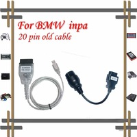Free shipping!! newest Inpa k d can for BMW diagnostic scanner with old 20pin to 16pin cable