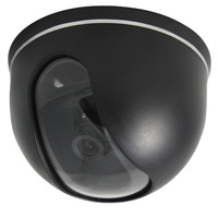 CCTV security SONY CCD 420TVL IR dome camera black mini dome CCTV camera security system