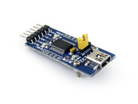 [ Communication Module ] Free Shipping !!! WaveShare Mini FT232 Module FT232 USB To Serial USB To TTL FT232R FT232RL Module