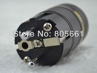 Hi End Audio ACROLINK FP-03EU Rhodium Plated EUR SCHUKO Power plug for DIY Power cable