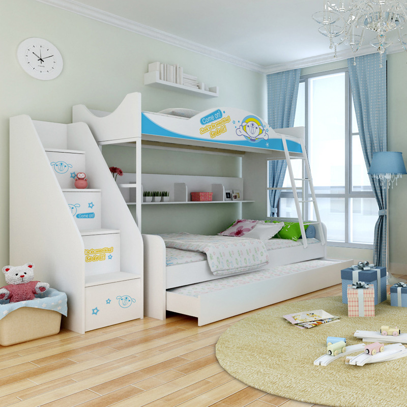 Ikazz gros lits superposés 1.2 m / 1.5 m hauteur lit matelas de style ...