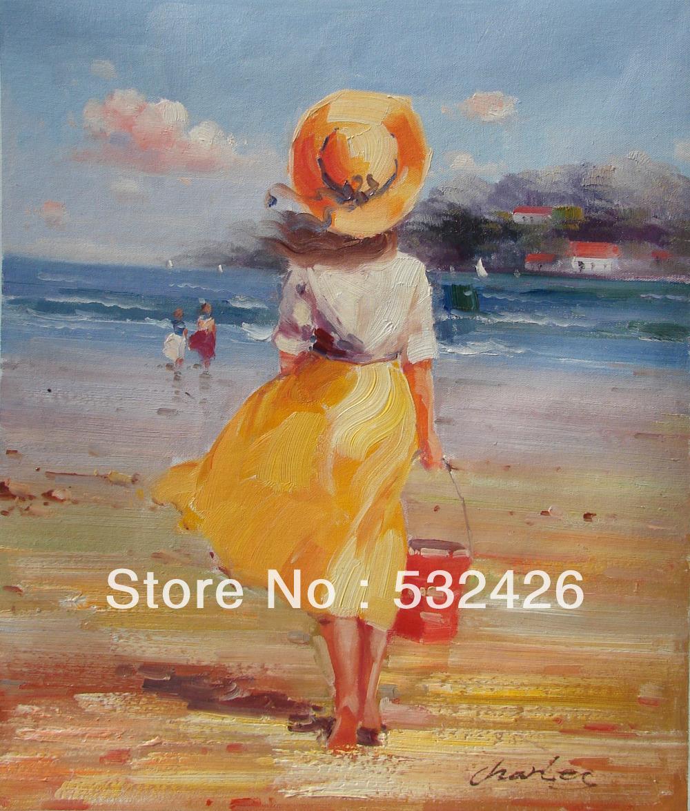 Kinderen strand schilderijen promotie winkel voor promoties kinderen strand schilderijen op - Zoon deco kamer ...