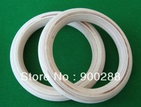 """Free shipping 2pcs/lot wood wooden 1.1"""" Portable Olympic Gymnastics Rings home fitness Gym crossfit strength training"""