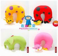 Cartoon stereo multicolour u pillow travel pillow cervical pillow neck pillow nap pillow kaozhen pillow