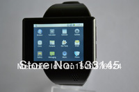 free shipping factory original android smart phone watch (with Bluetooth headset and 8GB memory card free gift)