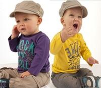2014 children thin set boys sports suit tshirt + pants 2pcs sets fit spring and antumn boy's clothes set Retail