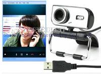 10pcs/lot.30.0 Mega Metal USB HD Webcam CMOS Web Camera Video Web Cam Camera CMOS for PC Laptop Free Shipping+Drop Shipping