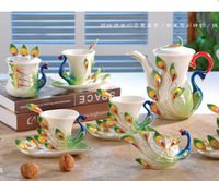 21PCS/LOT New arrival porcelain enamel coffee isonuclear allocytoplasmic jinkongque coffee cup fashion