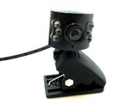 10pcs/lot.Free shipping 6 leds USB hd camera, PC camera, computer camera, a computer microphone laptop