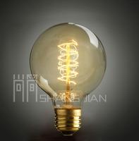 Free shipping Lighting loft decoration lamp vintage g95 bulb e27 incandescent bulb