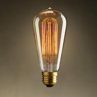 Free shipping Beautiful e27 screw-mount incandescent lamp light source vintage light bulb light bulb light bulb