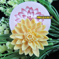 flower Arylic Resin Flower silicone mold,fondant molds,sugar craft tools,chocolate mould ,soap candle molds for cakes