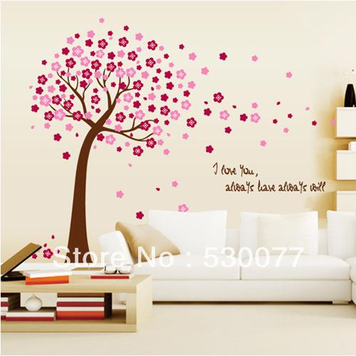 Home decor decals poster house sticker removable vinyl - Vinilos de arboles ...