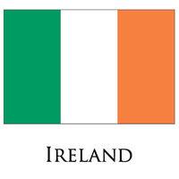 2pcs/lot 90x150CM country flags  Irish Tri Colour Flag of Ireland Irish flag 3 X 5 feet national country flag,  Free shipping