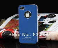 30pcs/lot Hight Qaulity,Free shipping Promotion for iPhone 4 4S 4G case ,metal scrub for  iphone4/4s case
