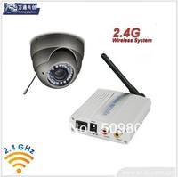 2.4ghz AV CMOS wireless camera +2.4G wireless receiver