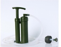 High-quality plastic outdoor mini portable water purifier,soldiers water filter/Portable water distiller