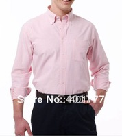 Free shipping  new Mens cotton-iron  shirt  Casual Slim fit Stylish Long Sleeve Shirts Luxury  Classic Collection M/L/XL/XXL