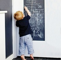 Green chalkboard stickers 2.2 meters long graffiti wall creative teaching and training children Removable Wall Stickers