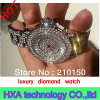 Beautiful Luxury diamond for women ladies ,unisex fashion full rhinestone jewerly watches