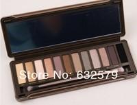 6pcs/lot Free shipping Nake 12 colors Makeup NK2 Eye shadow NAKE eye shadow 2 palette