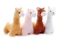 Alpaca horse hydrochorous doll plush horse doll plush horse toy horse