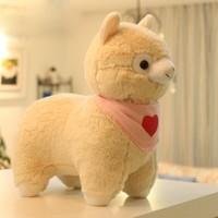 33cm Arpakasso Cute sheep plush toys, alpaca animal Leilei Ma Moe Moe mud doll gift girls best friend