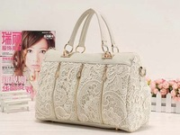 Free shipping 2013 Lady Hot Sale Fashion Clutch Womens Bags Casual Dress Shoulder Purse Handbag Lace Sexy Tote Bags Boston
